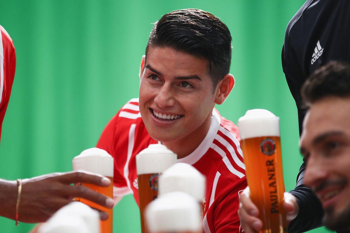 Bayern Siap Mempermanekan Jemes Rodriguez