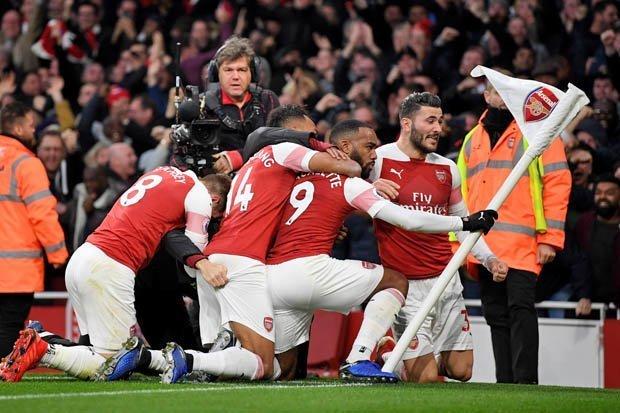 Arsenal Bekuk Spurs di Emirates Stadium