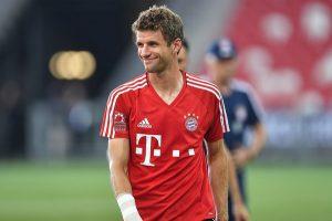 Striker Bayern Munchen asal Jerman, Thomas Muller.