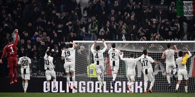 Juventus akan bertandang ke markas Atletico Madrid di leg 16 besar Liga Champion