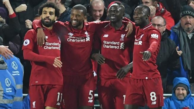 Liverpool kembali menunjukkan dominasinya