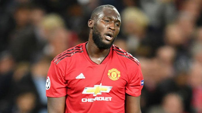 Manchester United melepas Romelu Lukaku.
