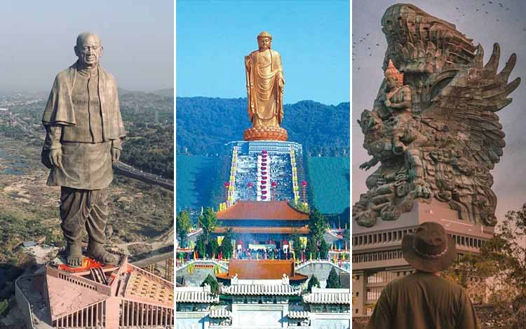 5 Patung Tertinggi di Dunia